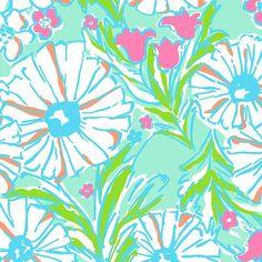 Lilly Pulitzer Summer '13- Splish Splash Print