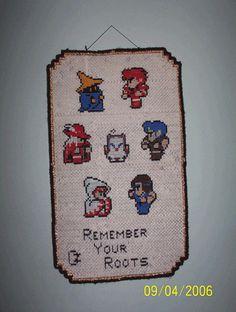 Final Fantasy Sprite Cross Stitch