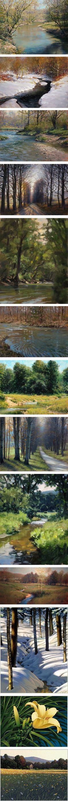 beautiful paintings new england john macdonald