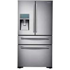 22.6 Cu. Ft. French Door Refrigerator In Stainless Steel, Counter Depth
