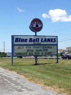 Blue ball , PA