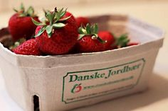Danish strawberries