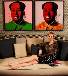 BELLE VIVIR: Interior Design Blog | Lifestyle | Home Decor: Lauren Santo Domingo at Home