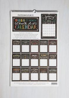 Pleasurable Planning 2015-2016 Wall Calendar