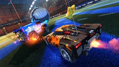 Soccer meets driving once again in the long-awaited, physics-based sequel to the beloved arena classic, Supersonic Acrobatic Rocket-Powered Battle-Cars!