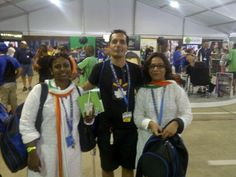 with some friends from Walmart India!
