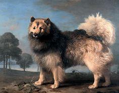 Elkhound by George Stubbs