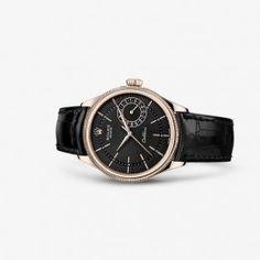Luxury Rolex Cellini Date Everose Black Black  Watch 50515-0011
