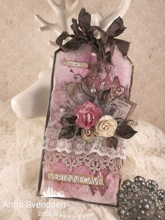 A romantic present tag