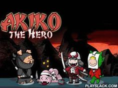 Akiko The Hero  Android Game - playslack.com , Akiko   is a brand-new hero, he comes to rescue the world, he runs and attempts with acerb children worldwide.