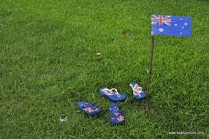 Thong toss or Gumboot throw for Australia Day Party game Anzac Day Australia, Winter In Australia, Toddler Crafts, Crafts For Kids, Australia Day Celebrations, Aus Day, Harmony Day, Craft Activities, Elderly Activities