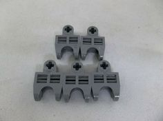 LEGO LOT OF 50 BLUISH GREY UNIVERSAL JOINTS JOINT PIECES PARTS