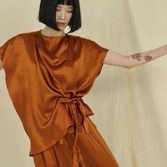 Saffron notes •• very limited edition. Now online #its1331 Sweater Coats, Sweaters, Jumpsuit Dress, Shoulder Sleeve, Lounge Wear, Knitwear, Girl Fashion, Women Wear, Lingerie
