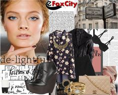 """""""eFoxCityContest"""" by dyana1993 ❤ liked on Polyvore"""