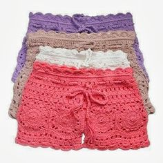 carmen croche....I need my aunt to make me a pair of these??.. so cute!                                                                                                                                                      More