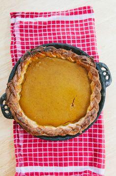 Gluten-Free Pumpkin Pie + Let's Talk About Thanksgiving Round-Up