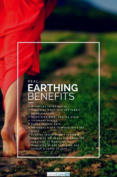 The Health Benefits of Earthing, Grounding and Walking Barefoot Natural Cures, Natural Healing, Holistic Healing, Soul Healing, Holistic Medicine, How To Regulate Hormones, Earthing Grounding, Grounding Exercises, Muscle Recovery