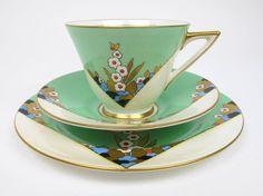 Instagram post by Mary Engelbreit • Dec 14, 2020 at 9:13am UTC Tea Cup Saucer, Tea Cups, Art Nouveau Furniture, Art Deco Buildings, Teapots And Cups, Tea Bowls, Art Deco Design, Royal Doulton, Vintage Tea
