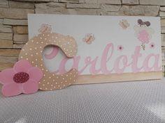 letras de madera decoradas para bebe - Buscar con Google
