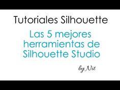 Las herramientas más útiles de Silhouette Studio.    Planeta Silhouette