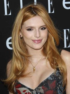 Bella Thorne at the 2015 ELLE Women in Music event.