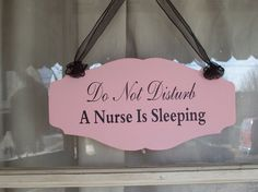 I totally need this! Love night shift, hate that there are those of us out there who sleep during the day!!