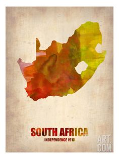 Shop for Naxart 'South Africa Watercolor Map' Canvas Art - Multi. Get free delivery On EVERYTHING* Overstock - Your Online Art Gallery Store! South Africa Map, African Map, Map Artwork, Watercolor Map, Find Art, Custom Framing, Canvas Art, Art Prints, Decor Ideas