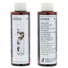 Aloe & Dittany #korres #shampoo #biological