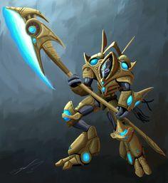 Starcraft: Protoss Hero by *ProlificPen