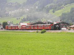 Zillertalbahn Austria, Trains, British, Cabin, Mansions, House Styles, Home, Mayrhofen, Manor Houses