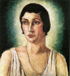 ANITA MALFATTI - Baby de Almeida 1922. O original encontra-se na Casa Guilherme de Almeida