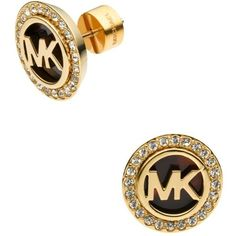 Michael Kors Tortoise Tortoise Stud Earrings ($75) ❤ liked on Polyvore featuring jewelry, earrings, tortoise, pave earrings, stud earring set, tortoise shell stud earrings, stud earrings and sparkle jewelry