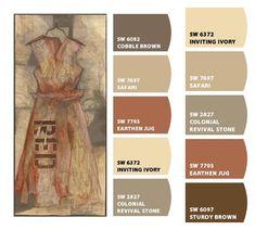 Bath Room Paint Colors Sherwin Williams Brown Kitchens 46 Ideas For 2019 Exterior Paint Colors, Exterior House Colors, Paint Colors For Home, Tuscan Paint Colors, Warm Paint Colors, Room Colors, Wall Colors, Colours, Paint Color Schemes