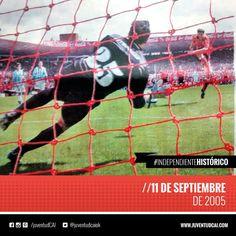 #IndependienteHistorico Clásico de Avellaneda en la Doble Visera. #Independiente golea a Racing por 4-0.