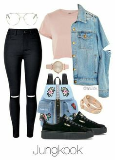 ❤«⭐Jungkook Inspired Outfits Bts⭐»❤