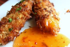 Comfy Cuisine: Coconut Chicken Tenders with Sweet and Sassy Dipping Sauce
