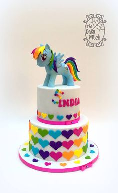 The Cake Witch #rainbow. #My little pony