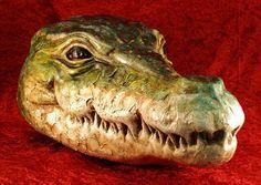 Venetian crocodile mask