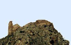 restos del castillo de chodes - zaragoza - españa