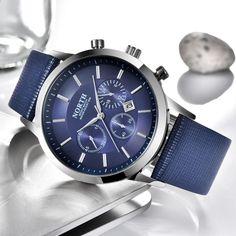NORTH Men's Fashion Business Watches Luxury Brand Casual Military Waterproof Wristwatch Leather Strap Clock Quartz Watch for man Quartz Watch, Luxury Branding, Omega Watch, Rolex, Watches For Men, Casual, Clock, Mens Fashion, Leather