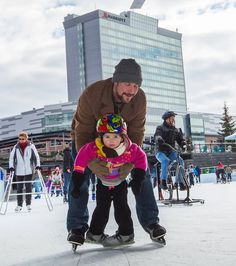 I've always admiredoutdoor ice skating in Western New York.The downtown Rotary Rink, Buffalo's mini-version of Rockefeller Center. The Currier and Ives ambiance of a country pond. Most often, I've marveled at the big, beautiful rink at Canalside. It's right outside The News. Even in the worst weather, you see those skaters out there. They're so picturesque, like out ofa Dutch…