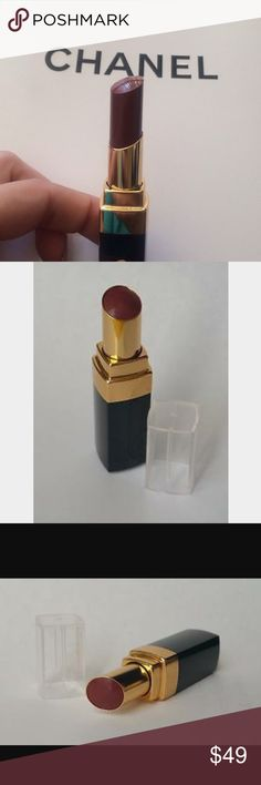 CHANEL Lipstick Brand new and authentic CHANEL Rouge Coco Shine lipstick in color 83 Scenario. Discontinued and sold out everywhere. CHANEL Makeup Lipstick