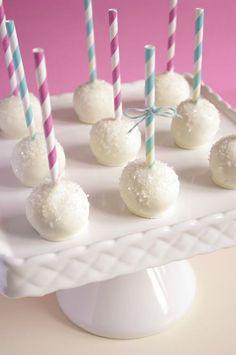 Brownie cake pops