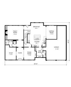 An angled keeping room off the open kitchen and a vaulted for John wieland homes floor plans