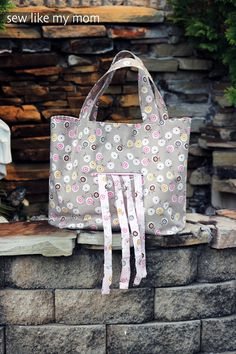 The Polly Tote   Sew Like My Mom