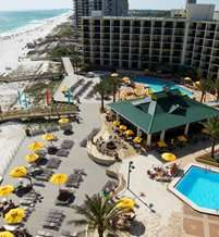 San Destin Hilton on Miramar Beach, Florida!  You can't beat it for a beach vacation in the US!