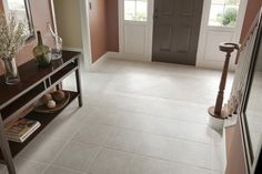 Perfect tile for an entryway.