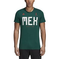 adidas World Cup Soccer Mexico Mens Tee XLarge Green ** More information could be discovered at the image link. (This is an affiliate link). Adidas Real Madrid, Fifa Ps4, Mens Tees, Cotton Tee, Adidas Men, Soccer, T Shirt, Image Link, Green