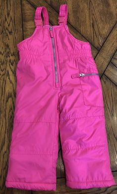 6010f8c68 Toddler Girls Carters Snow Pants Winter Size 24 Months Pink #fashion # clothing #shoes