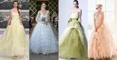 Beautiful colored wedding dresses! http://modaflash.blogspot.it/2013/06/abito-da-sposa-cercasi.html